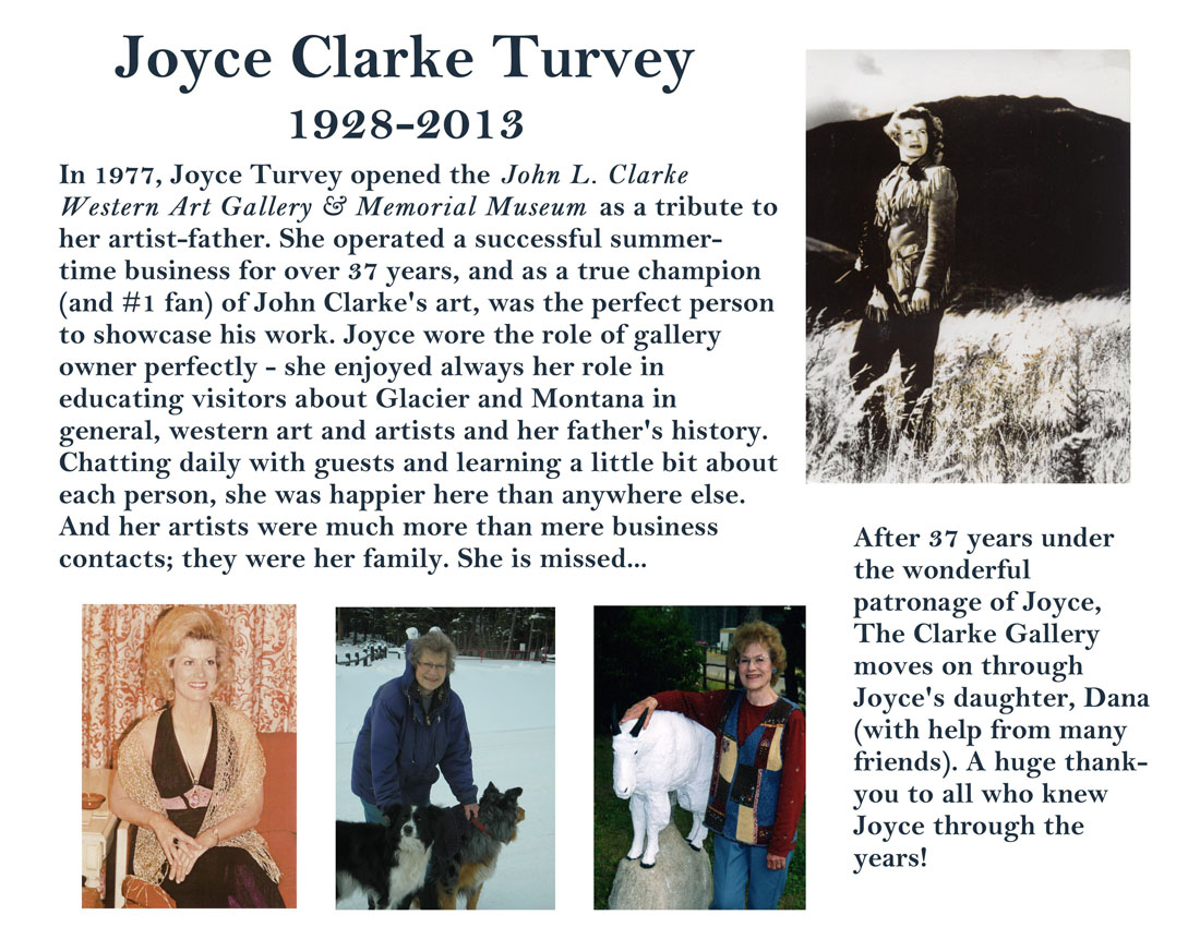 Joyce Turvey Tribute