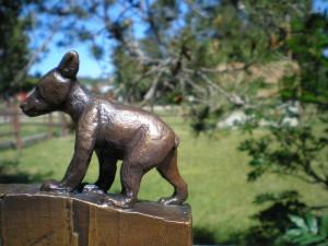 John L. Clarke - Small Bear Bronze 43/50