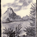 John Clarke Charcoal Sinopah