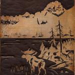 Moose Wadeswater by John Clarke