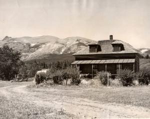 Clarke Homestead circa 1950s
